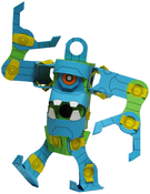 Image of CRO-Bolt Paper Toy Kit