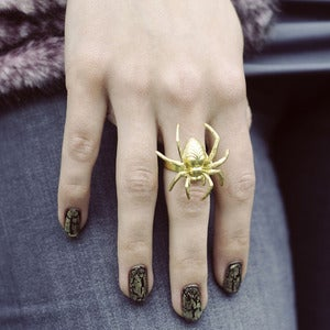 Image of Itsy Bitsy Spider Ring