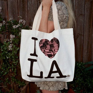 Image of I LOVE LA (Traffic) Tote Bag