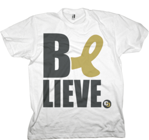 Image of Black + Gold 2010/2011 BELiEVE Shirt