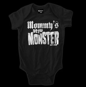 Image of Mommy's Little Monster Onesie Style # 2013