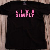 Image of LIVE SIMPLY S/S - BLACK