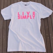 Image of LIVE SIMPLY S/S - WHITE