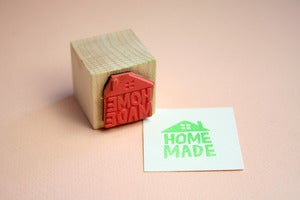 Image of Small Object hand made or home made stamp