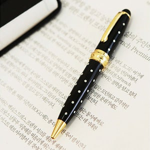 Image of  AntennaShop TableTalk Mini Polka-Dot Pen