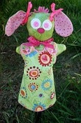 Image of honey bunny ~ paper pattern
