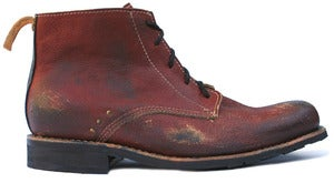 Image of No.0005 SIGNAL desert boot Red