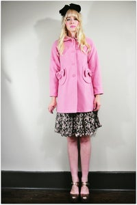 Image of She's The Pink Of Bow Perfection Coat