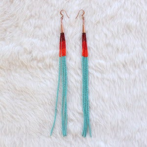 Image of Turquoise Dangle Earrings