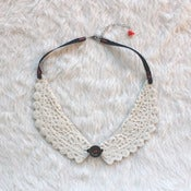 Image of Porcelain Lace Collar