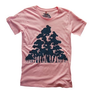 Image of The Wood for the Trees - Women's Pink/ de Mujer en Rosa