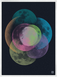 Image of Many Moons Print
