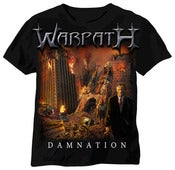 Image of Warpath 'Damnation' artwork T-Shirt