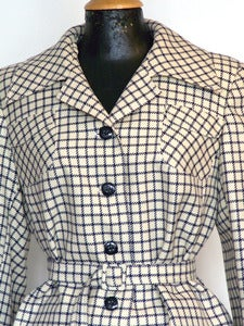 Image of VESTE DE TAILLEUR VINTAGE MARQUE WIENBERG T40 - REF.779