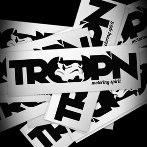 Image of TROOP'N Bumper Sticker