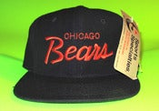 Image of *Sold Out* TISA Chicago Bears Sports Specialties Script Snapback Hat