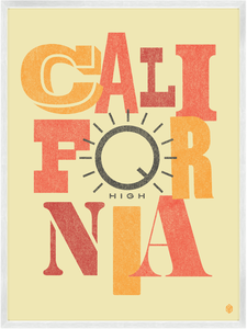 Image of California High Print
