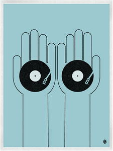 Image of Turntablist Print