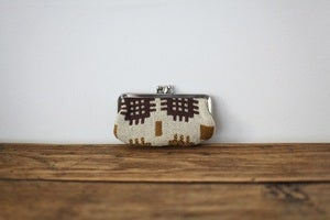 Image of 1970S Welsh tapestry small purse {SOLD}