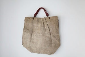 Image of 1940s rustic shopping bag {SOLD}