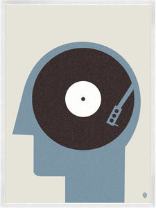 Image of Music On The Mind Print