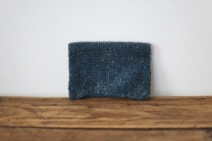 Image of 1920s beaded blue purse {SOLD}