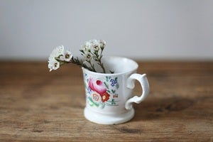 Image of 1850s handpainted mug {SOLD}