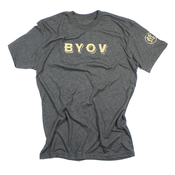 Image of BYOV Tee - Dark Gray