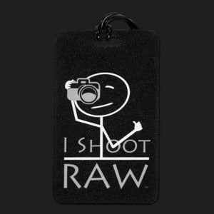 Image of Bag Tag - I Shoot RAW