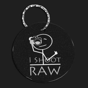 Image of Bag Tag / Keychain - I Shoot RAW