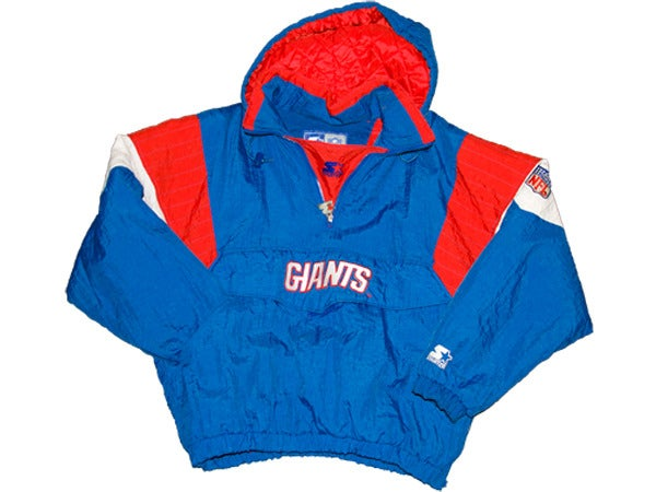 Image of Vintage NY GIANTS Pull Over by STARTER