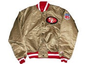 Image of Vintage San Francisco 49ers Satin Jacket by STARTER