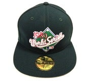 "Image of OAKLAND A'S ""1989 WORLD SERIES FRONTAL"" NEW ERA FITTED"