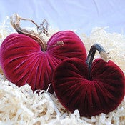 Image of HeartGram Set Coral/Cherry
