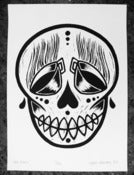 Image of Screen Print - Tea Skull