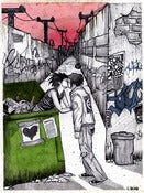 Image of Dumpster Love Print