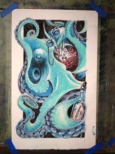 Image of Octopus' Garden - Original Sketch