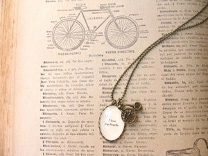 Image of I love my bicycle Colgante/Necklace