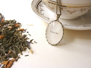Image of Sebastian (I love tea) Colgante/Necklace