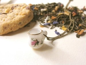 Image of Mildred (I love tea) Colgante/Necklace