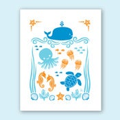 Image of Ocean Print