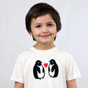 Image of Penguin Short Sleeve Organic Onesie/Tee