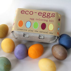 Image of eco-eggs egg coloring kit