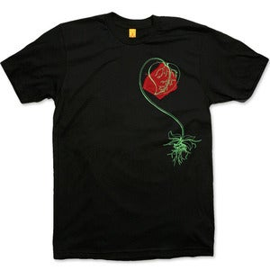 Image of I ♥ NATURE - men's black t-shirt