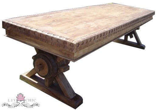 Amazing Rustic Outdoor Dining Table 530 x 363 · 39 kB · jpeg