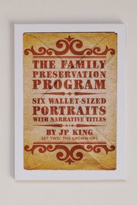 Image of The Family Preservation Program: Adults