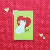 Image of 'Frenchie Love' card