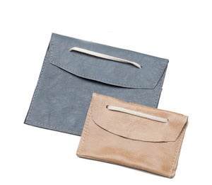 Image of CARD CASE - Recycled Leather Case (LG)