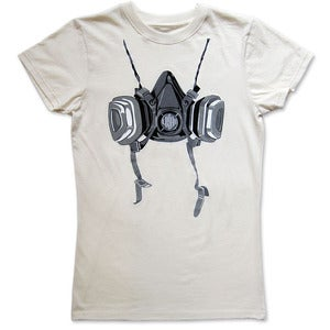 Image of RESPIRATOR - women's natural t-shirt