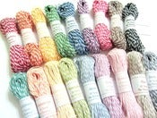 Image of {I Dream in Twine} Sampler Pack - contains 18 COLORS (15 yards of each color)